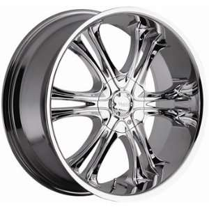 Viscera 729 22x9.5 Chrome Wheel / Rim 5x115 & 5x120 with a 15mm Offset