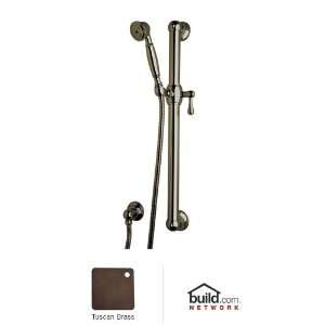 Rohl 1282TCB Tuscan Brass Single Function Hand Shower 1282
