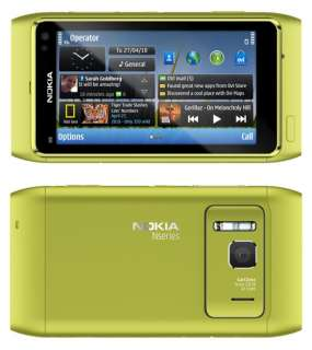 Nokia N8 Unlocked GSM Touchscreen Phone Featuring GPS with