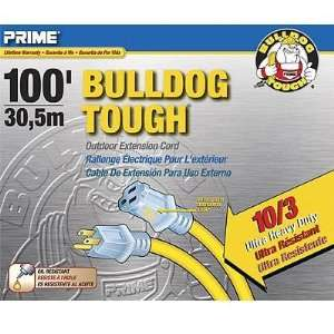 Prime Wire & Cable LT511935 100 Foot 10/3 SJTOW Bulldog Tough Ultra