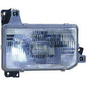 88 89 NISSAN PICKUP HEADLIGHT RH (PASSENGER SIDE) TRUCK