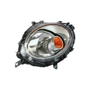 TYC 20 6887 00 Mini Cooper Passenger Side Headlight