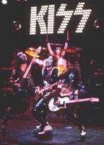 KISS harness the excitement of their bombastic live performance. KISS