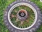 1980 YAMAHA YZ80 YZ 80 REAR WHEEL RIM TIRE HUB SPOKES