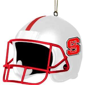 North Carolina State Wolfpacks 3 Helmet Ornament NC