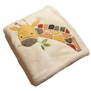 Jungle Jigsaw Boa Blanket Baby
