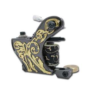 New 12 wrap coils Powerful Handmade Tattoo Machine Gun shader liner