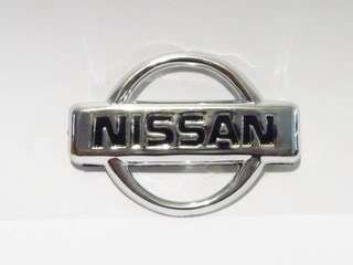 Nissan Chrome 58mm Hood Trunk Emblem Badge Sticker