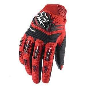 Fox Racing Polarpaw Gloves   2011   2X Large/Red Automotive