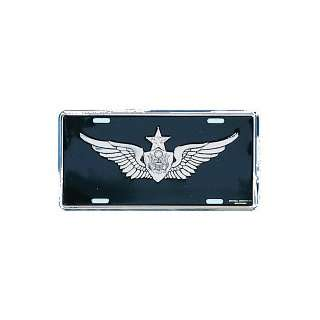 US Army Senior Aircrew License Plate Automotive