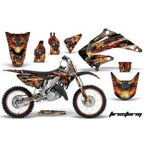 AMR Racing Honda Cr250 Mx Dirt Bike Graphic Kit   1995 2008 Firestorm