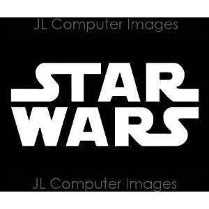 STAR WARS #2 WHITE DECAL 6 X 3 Automotive