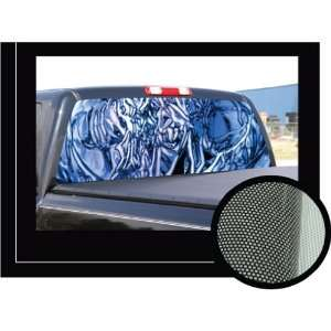 SOLARIZE 22 x 65   Rear Window Graphic   back truck decal suv view