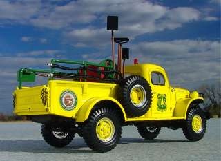 LAST RARE SMOKEY BEAR #1 Dodge Power Wagon   First Gear