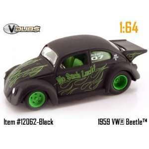Jada Dub City VDubs Flat Black Racing No Such Luck 1959