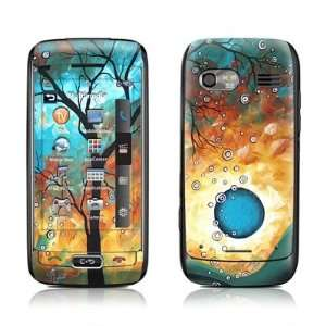 Aqua Burn Design Protective Skin Decal Sticker for LG VU
