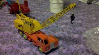 Dinky or British diecast toy vehicle or construction toy collection