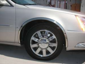 00 05 Deville 06  DTS Chrome Fender Trim Wheel Moldings