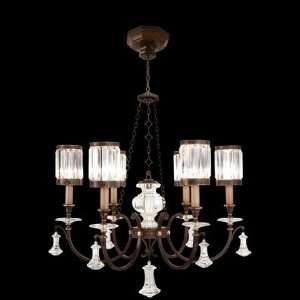 584240ST Eaton Place 6 Light Pendant in Rustic Iron