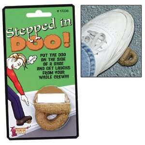 Stepped in Doo Gross Plastic Practical Joke Toy