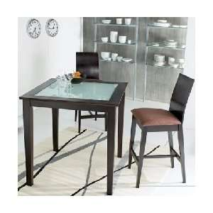 Baxter Square Bar Table & Bar Stools 5 Piece Pub Set
