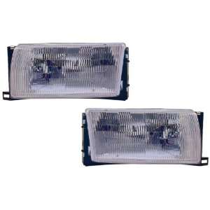 Mercury Villager/Nissan Quest Replacement Headlight Assembly   1 Pair