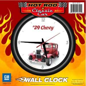 1929 Chevy 12 Wall Clock   Chevrolet, Hot Rod, Classic Car