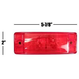 Red Side Clearance Marker Truck Trailer Boat Light Automotive