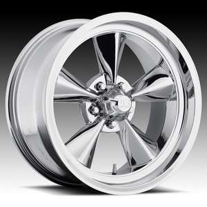 MAGS 17 Inch Standard Wheel SET FOOSE Style TORQUE THRUST Chrome RIMS