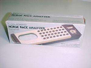 VINTAGE 1983 THOROUGHBRED HORSE RACE ANALYZER NEW IN BOX MUST SEE