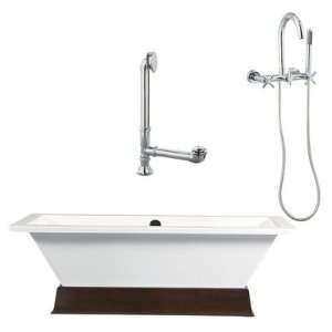 Tella 67 Contemporary Tub and Wall Mount Faucet with