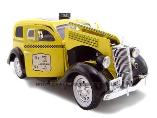 1935 FORD SEDAN DELIVERY TAXI CAB 124 DIECAST MODEL