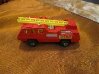Matchbox Superfast No 22 Blaze Buster Fire Engine Truck Lesney Red