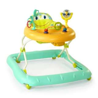 Bright Starts Walk A Bout Baby Walker   Cute Frog Design 074451069657