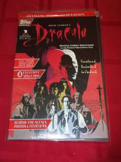 Topps Comics Bram Stokers Dracula Set #1 4 Plus Exclusive Trading