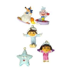 Set of 5 Dora the Explorer Mini Swiper, Boots & Friends