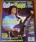 Guitar Player Magazine January 2008 Brian May Steve Mor