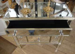 Mirrored Art Deco Commode Chest Drawers