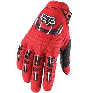 Fox Racing Pee Wee Dirtpaw Gloves   Youth X Small/Red