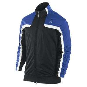 NIKE JORDAN MENS CLASSIC BASKETBALL TRACK JACKET 404311 012 BLACK