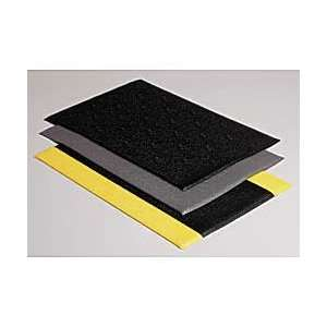 WEARWELL Soft Step Anti Fatigue and Safety Mats   Black