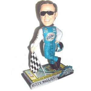 Rusty Wallace Booble Head 2 Last Call Nextel Cup