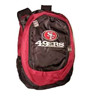 NFL Football San Francisco 49ers Large Backpack