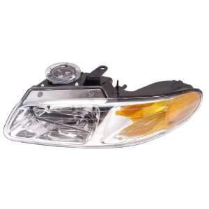 Dodge Caravan/Voyager/Town & Country 96 99 Headlight Head Lamp Driver