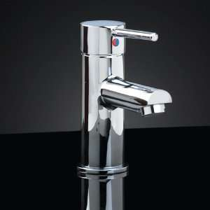 Rotunda Single Hole Faucet with Straight Spout   No Overflow   Lead
