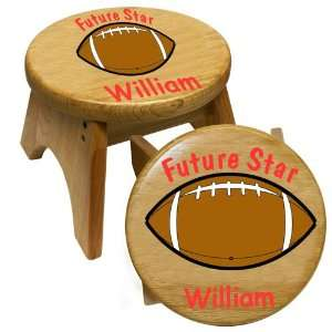 Football Theme Wooden Step Stool by Holgate Toys