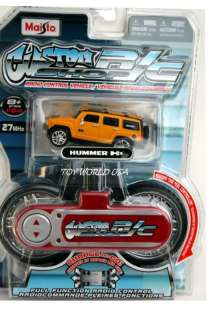 Maisto Custom R/C Shop HUMMER H3 Yellow