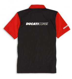DUCATI CORSE 2012 JERSEY POLO SHIRT ALL SIZES NWT NEW FOR THE 2012