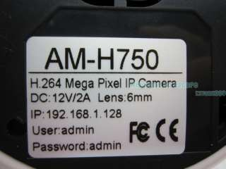 264 2 Mega Pixel 1600*1200 Progressive Scan Audio Motion Detection