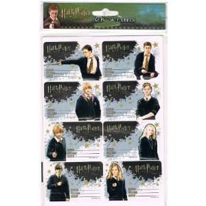 Harry Potter Order of the Phoenix Book Labels Office